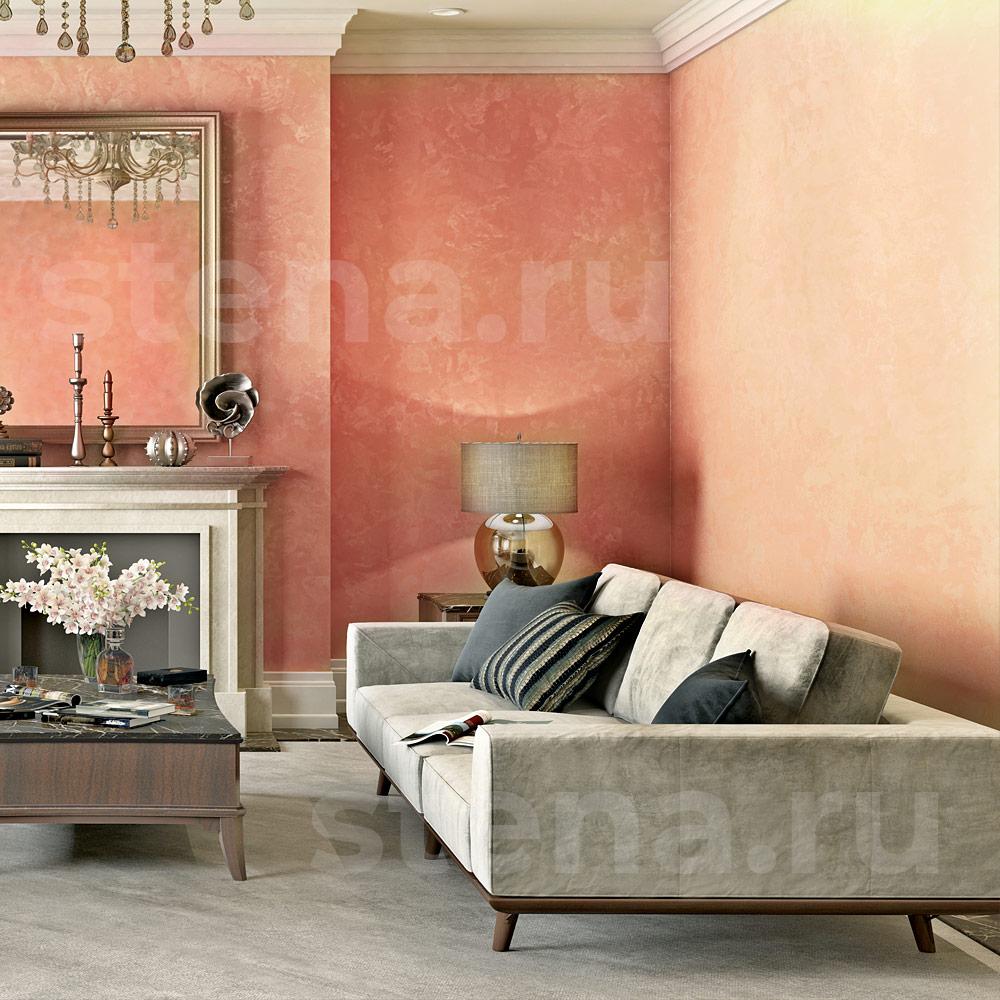 Декоративная штукатурка мокрый шелк фото в интерьере гостиной