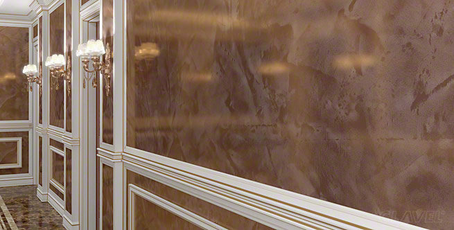 Венецианские штукатурки с эффектом мрамора