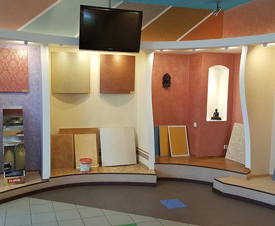 Stena-Clavel - демонстрационный зал